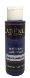 Cadence Premium acrylverf (semi mat) Ultra Marine Blauw 01 003 0253 0070 70 ml