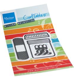 Marianne D Craftable CR1547 - Band aid & pills