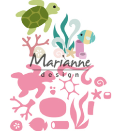 Marianne D Collectable COL1468 - Sealife by Marleen