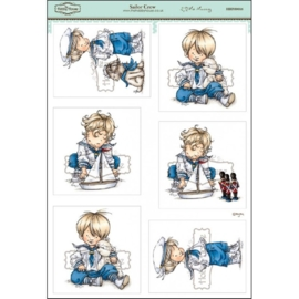 The Hobby House Wee Stamps - Sailor Crew (HHM0016)