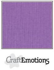 CraftEmotions linnenkarton paars 27x13,5cm 250gr