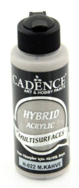 Cadence Hybride acrylverf (semi mat) Colier Brown 01 001 0022 0120 120 ml