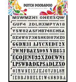 Dutch Doobadoo - 470.715.160 - DDBD Dutch Mask Art Strips