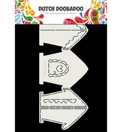 Dutch Doobadoo - 470.713.834 - Card Art Gingerbread House