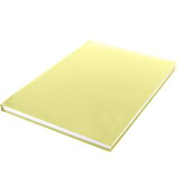15579 - Dummyboek, blanco hard cover, geel pastel