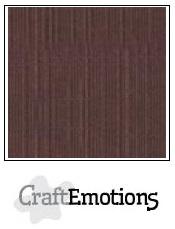 CraftEmotions linnenkarton - koffie LHC-75 A4 250gr