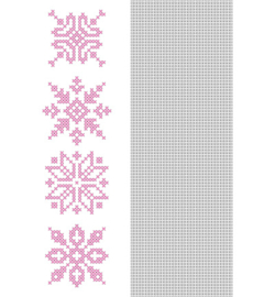 Nellie`s Choice CCPAT011 - CrossCraft Pattern-11 Snowflakes