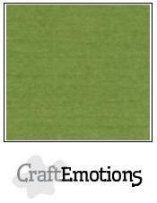 CraftEmotions linnenkarton mosgroen 27x13,5cm 250gr