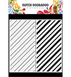 Dutch Doobadoo -  470.784.010 - Mask Art Slimline Stripes