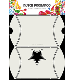 Dutch Doobadoo - 470.713.072 - Dutch Box Art Envelope with star