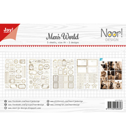 Noor! Design - 6011/0425 - Labelvellen - Man