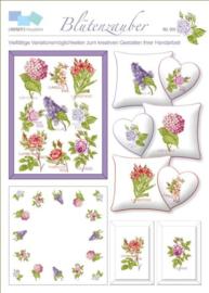 Borduurpatroon Lindner Blütenzauber Betoverende bloemen 005