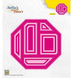 Nellie`s Choice MFD134 - Block Die Octagon