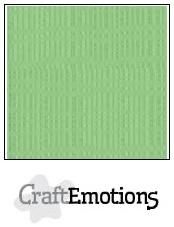 CraftEmotions linnenkarton pistache 30,5x30,5cm