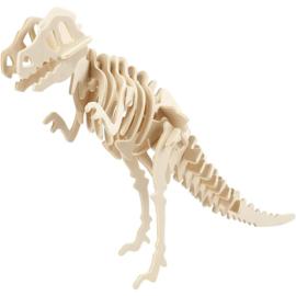 T-rex - 3D Hout constructieset met APP