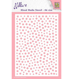 Nellie`s Choice MMSA6-007 - Little squares