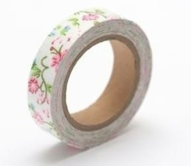 ScrapBerry's Cotton Tape With Floral Print 15 mm x 4 m (SCB490039)