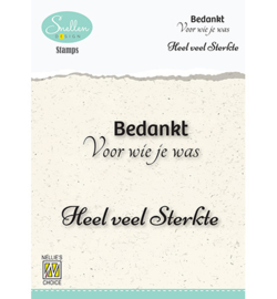 Nellie`s Choice - DCTCS004 - Texts nr. 4 -Bedankt voor wie je was…-