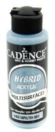 Cadence Hybride acrylverf (semi mat) Napoleon blauw 01 001 0042 0120 120 ml