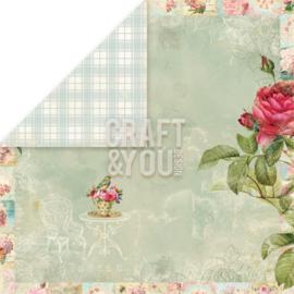 """Craft & You - Tea Time - 4 (12""""x 12"""")"""