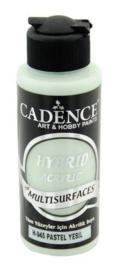 Cadence Hybride acrylverf (semi mat) Pastel groen 01 001 0045 0120 120 ml