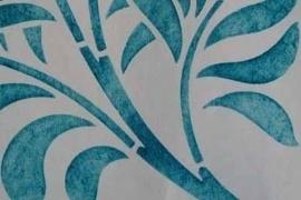 Sjabloon folie Vinyl Rol 30.5 cm ----- per 50 cm lengte
