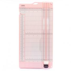 Vaessen Creative • Papiersnijder met rilfunctie 15x30,5cm pink