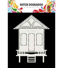 Dutch Doobadoo - 470713719 - Card Art Huisje 2 delig