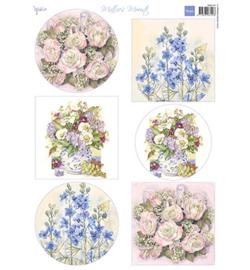 Marianne D Knipvel MB0191 - Mattie's Mooiste - Field flowers