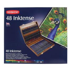 Derwent Inktense 48 st houten doos DIP2300151