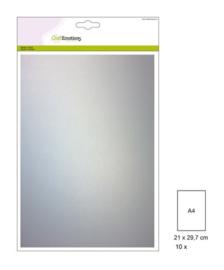 CraftEmotions Transparant perkamentpapier wit 10 vel A4 140GR