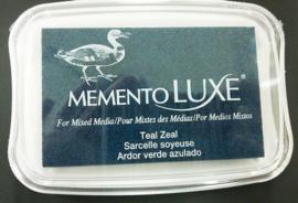 Memento inktkussen De Luxe Teal Zeal ML-000-602