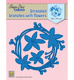 Nellie`s Choice - SDB074 - Stangled branches with flowers