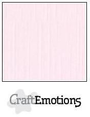 CraftEmotions linnenkarton babyroze 27x13,5cm 250gr