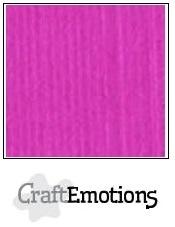 CraftEmotions linnenkarton Koraalmagenta 30,5x30,5cm