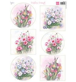 Marianne D Knipvel MB0193 - Mattie's Mooiste - Floral Spring