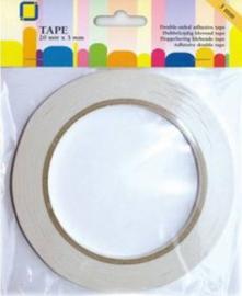 Dubbelzijdig klevend tape 9 mm 20 MT
