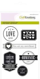 Valentijn - A6 teksten valentijn (engels) II