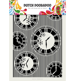 Dutch Doobadoo - 470.715.814 - DDBD Mask Art Clocks Stripes