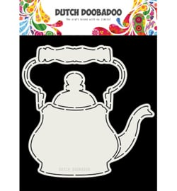 Dutch Doobadoo - 470713763 - Card Art A4 Theepot