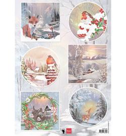 Marianne D Knipvel EWK1286 - Winter wishes - Fox