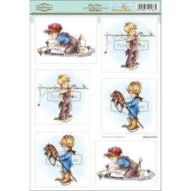 The Hobby House Wee Stamps - Play Days (HHEB011)