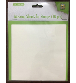 Nellie`s Choice MSFS001 - Masking sheets for stamps