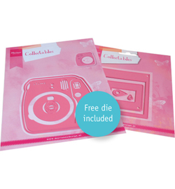 Marianne D Collectable COL1498 - Instant Camera