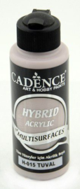 Cadence Hybride acrylverf (semi mat) Natural canvas 01 001 0015 0120 120 ml