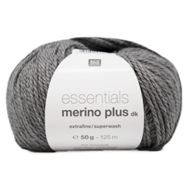 Rico Design - Essentials Merino Plus dk 013 Light Grey