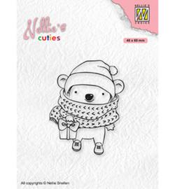 Nellie`s Choice - NCCS012 - Christmas Koala with parcel