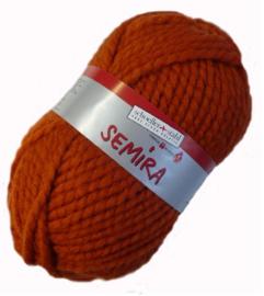 Schoeller en Stahl - Semira 0006 kürbis / bruin- oranje
