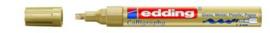 edding-755 kalligrafie glanslak marker goud 1ST 1-4 mm