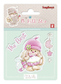 ScrapBerry's Bunny My Little Star - Set of stamps (7*7cm) - Best Bunny